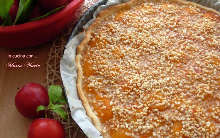 Crostata alle prugne fresche, ricetta facile