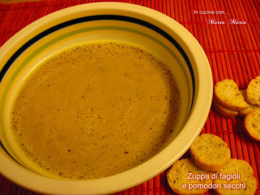 zuppa di fagioli di Spagna