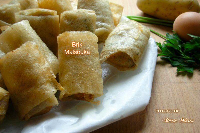 Brik malsouka, ricetta Tunisia