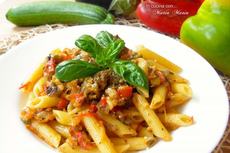 Pasta con verdure saltate, ricetta facile