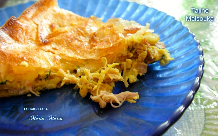 Tajine malsouka, ricetta Tunisia