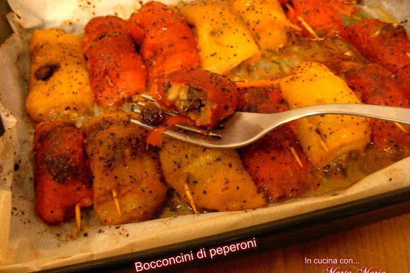Bocconcini di peperoni, ricetta facile