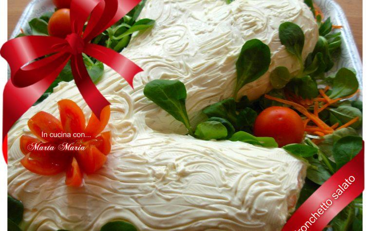Tronchetto salato, ricetta delle feste