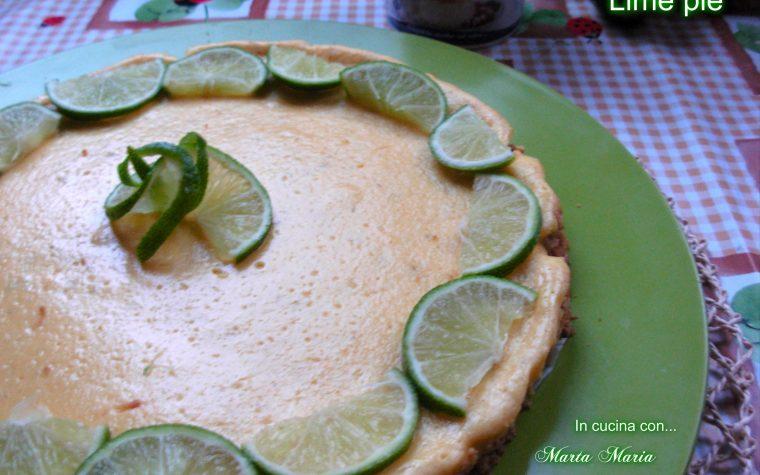 Lime pie, ricetta con latte condensato