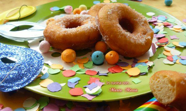 Ciambelle fritte senza patata, ricetta Carnevale