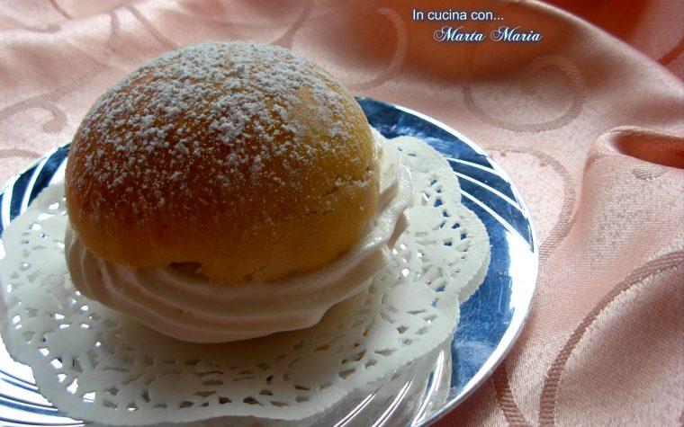 BRIOCHE FIOCCO DI NEVE, ricetta Bimby