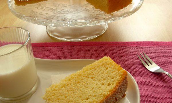 Chiffon cake, ricetta Bimby