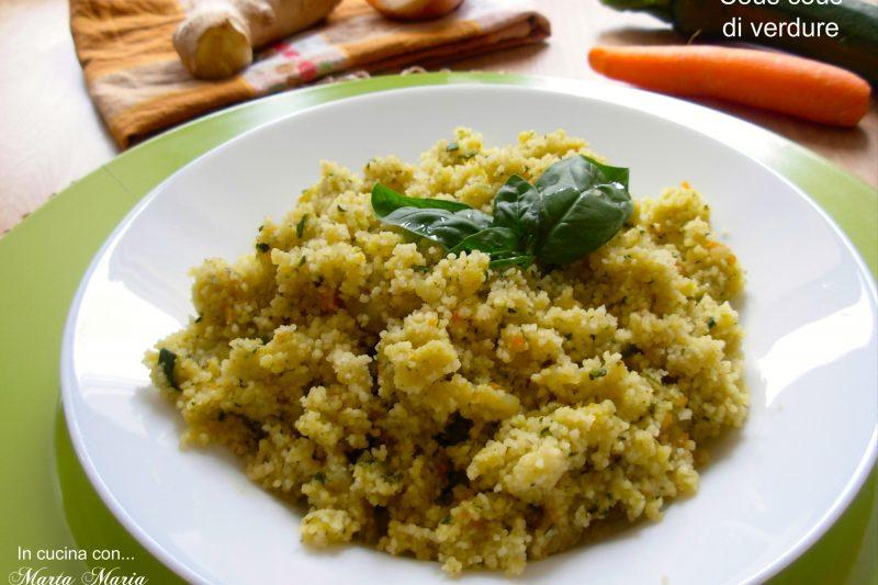 Cous cous di verdure, ricetta Bimby