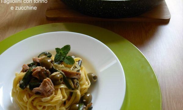 Tagliolini con tonno e zucchine, ricetta facile