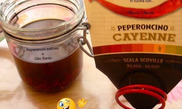 Peperoncini sott'olio, ricetta facile