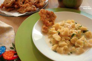 Gnocchi di patate con taleggio e carciofi