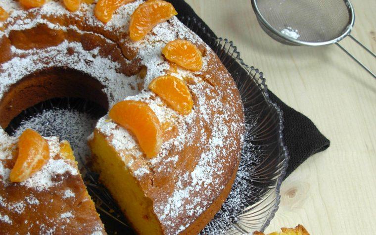 Ciambella al mandarino, ricetta Bimby