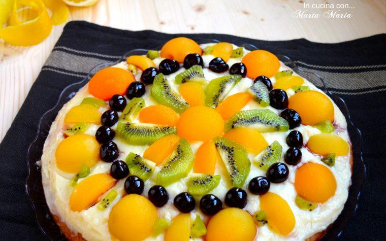Crostata morbida alla frutta, ricetta con video