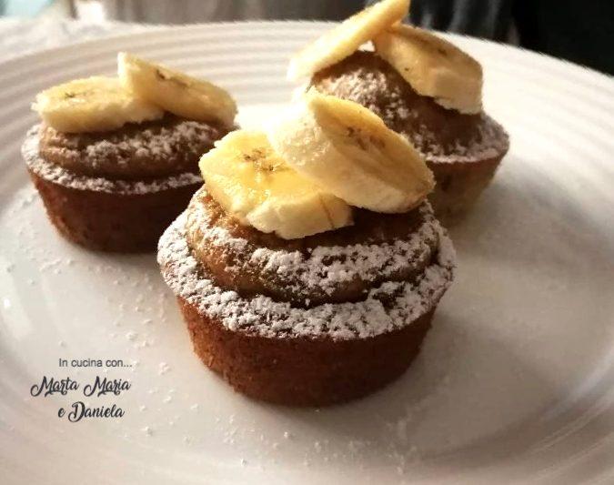 Muffins morbidi alla banana