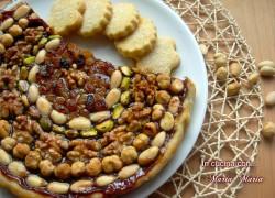 CROSTATA DI FRUTTA SECCA, ricetta siciliana