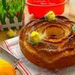 Ciambella di Pasqua all'arancia e ricotta, ricetta Bimby