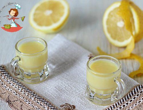 Crema limoncello – con i limoni di Calabria