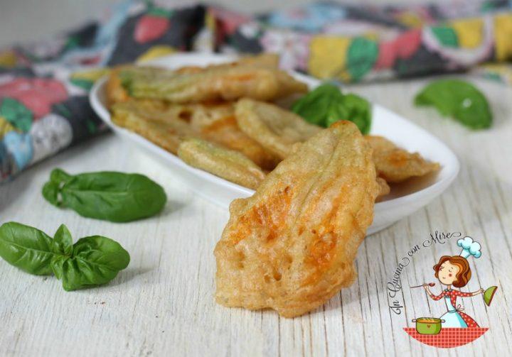 Frittelle fiori di zucchine