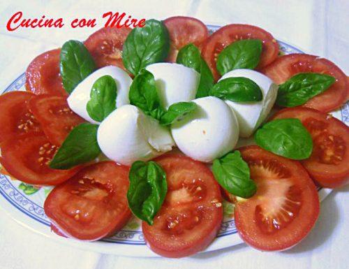 Mozzarella bufala pomodori