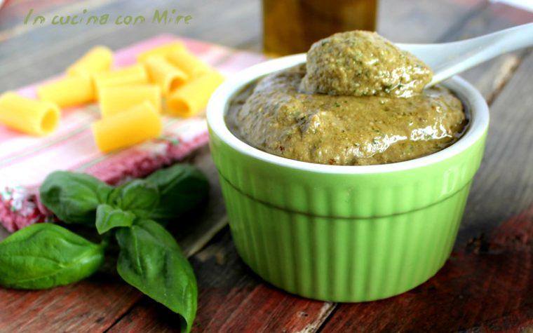 Pesto melanzane arrostite – Home made