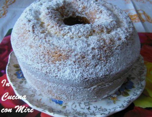 Chiffon cake – Ciambella morbidissima