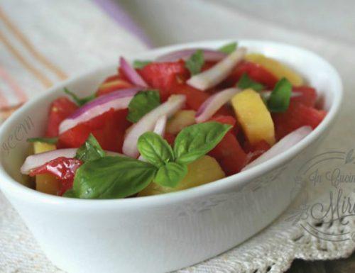 Insalata pomodori e patate