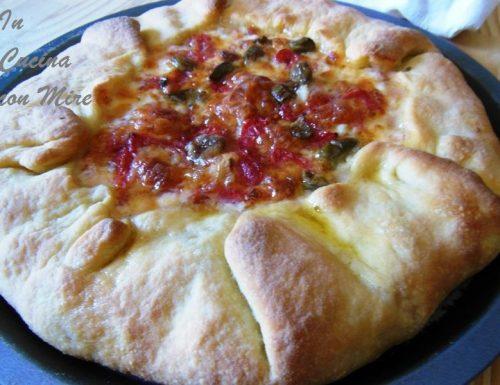 Pizza rustica di pasta madre