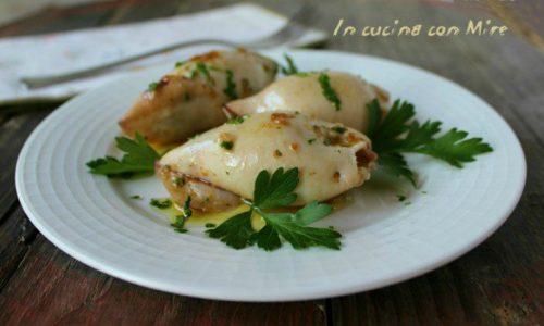 Calamari ripieni – ricetta