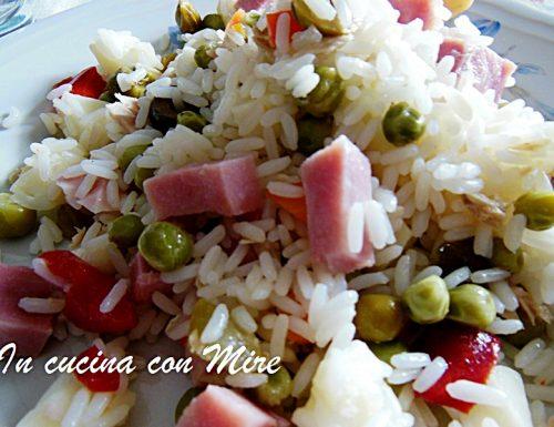 Insalata di riso senza maionese