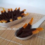 canditi d'arancia al cioccolato fondente
