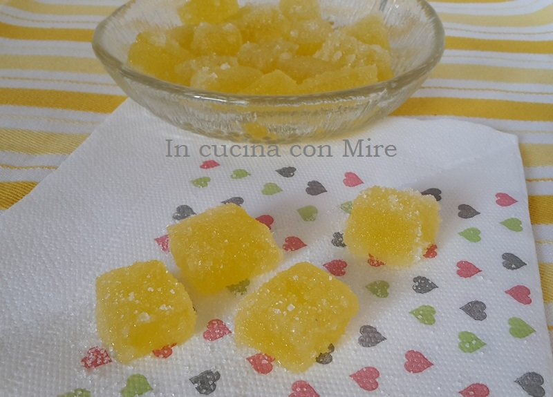 Caramelle gelèè Caramelle gelèè all'arancia