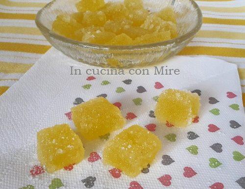 Caramelle gelèè all'arancia