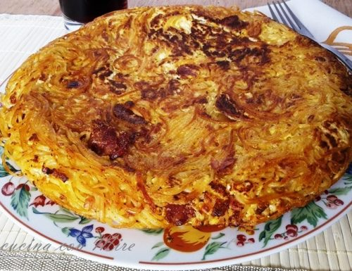 Frittata spaghetti – Ricetta calabrese