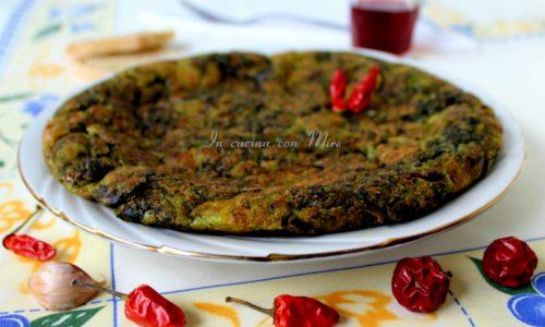 Frittata con cicoriette – Ricetta Antica Calabrese