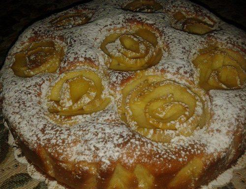 Torta rose di mele – ricetta amica