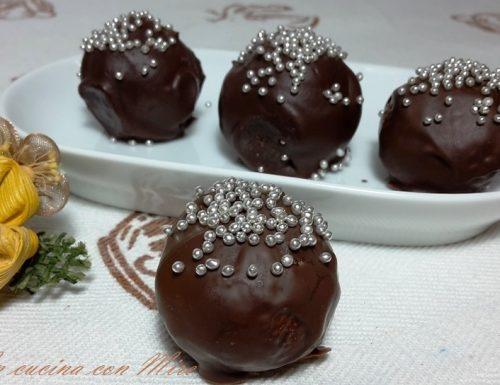 Tartufi al cioccolato – ricetta