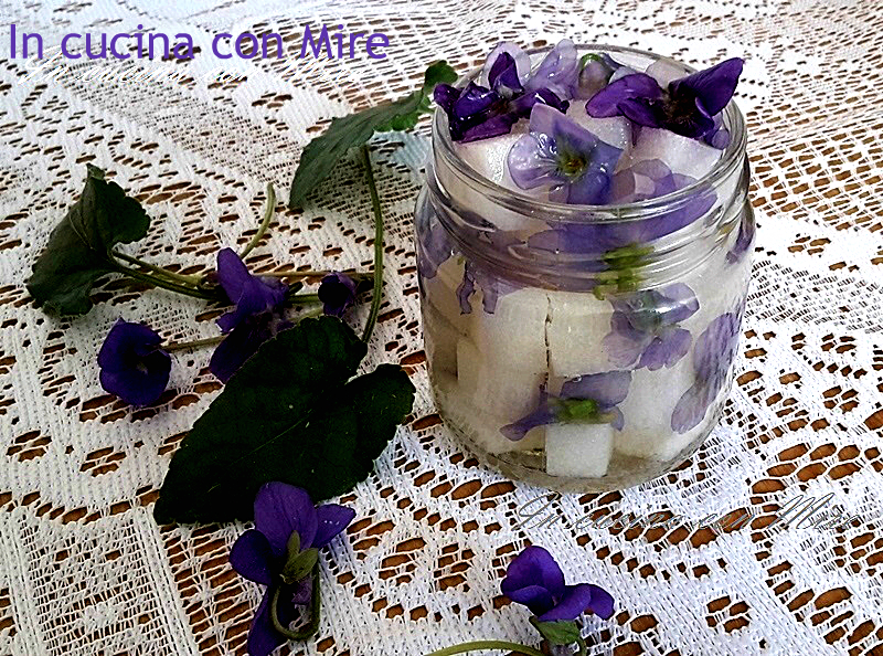 Zuccherini alcolici alle Violette 20150320_143038