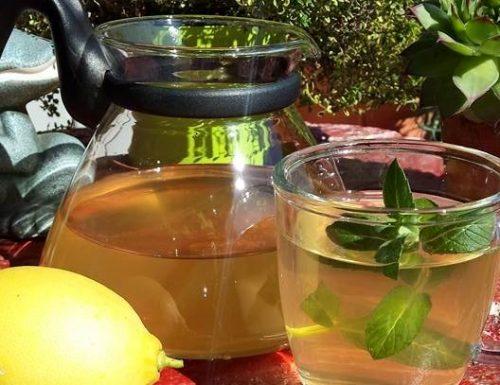 Tisana tè zenzero e limone