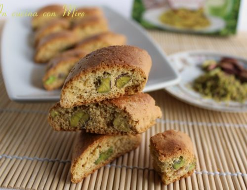 Tozzetti ai pistacchi – Ricetta