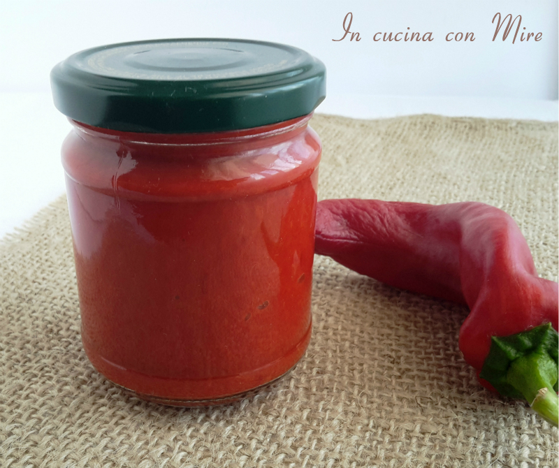 Salsa per salami - ricetta calabrese