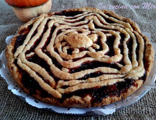 Crostata Halloween dolce