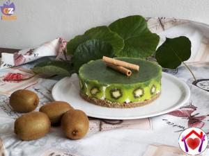 ricette cheesecake Cheesecake al Kiwi