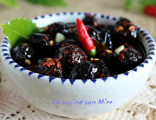 Olive nere calabresi – come conservarle