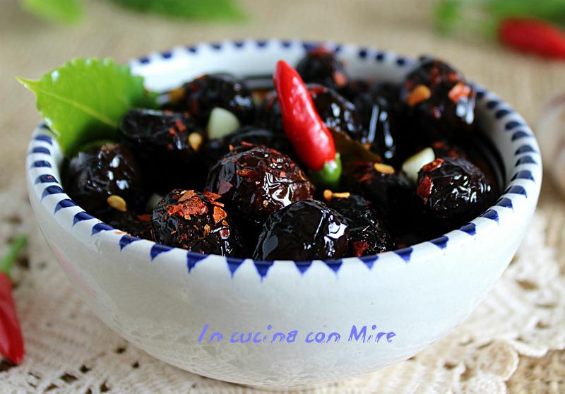 Olive nere calabresi - come conservarle