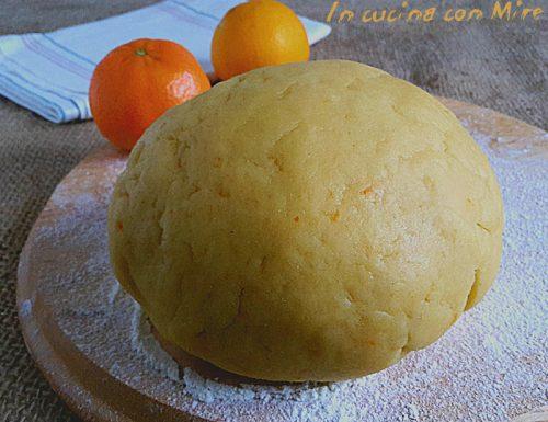 Pasta frolla arancia