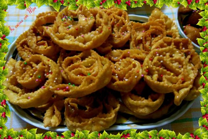 Cartellate pugliesi o rose di Natale