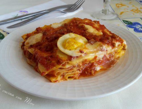 Lasagne al forno ricche e veloci