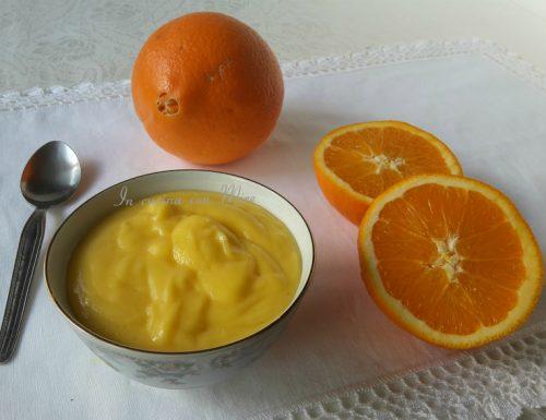 Crema pasticcera arancia