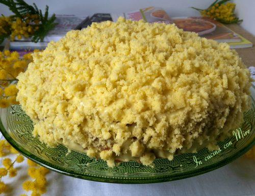 Torta mimosa all'arancia