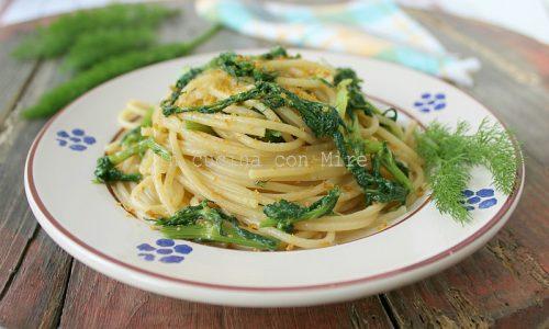 Spaghetti al finocchietto e bottarga